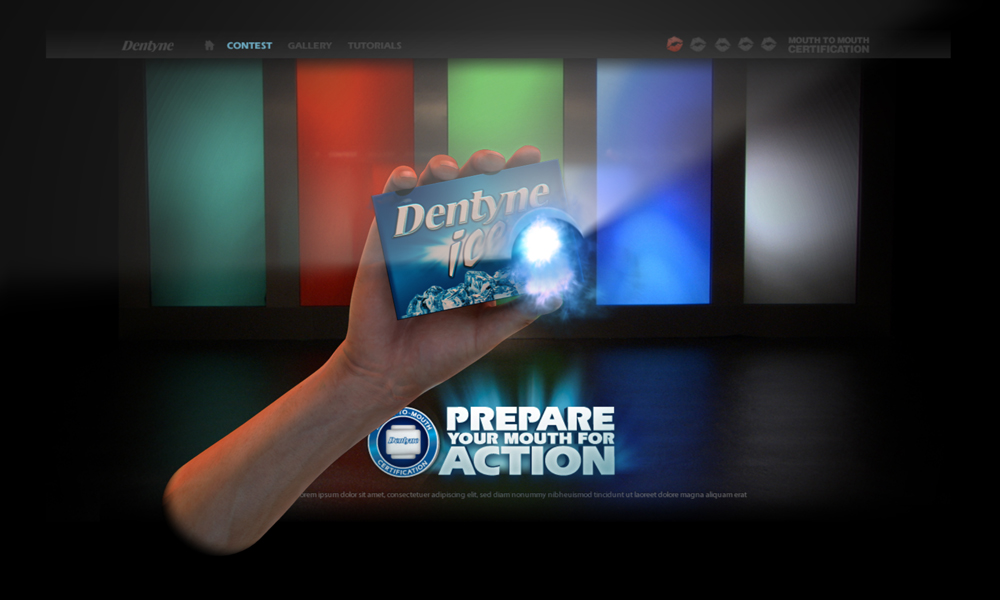 GUS VFX » Dentyne // Prepare For Action
