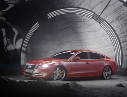 Audi A5 // The Cave